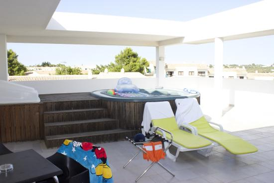 Luna Alvor Village: Our balcony
