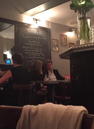La Grille St-Germain: Oui, c'est Hugh Grant !!!
