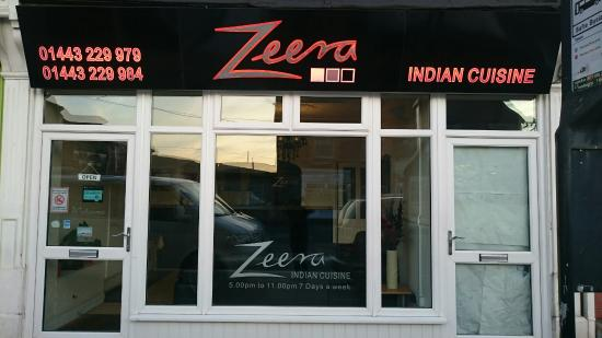 Zeera Indian Takeaway In Pontyclun