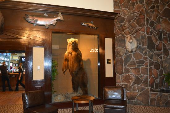 The Lakefront Anchorage Lobby