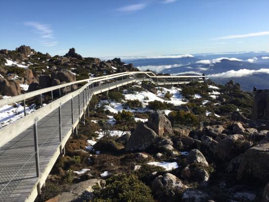 Mount Wellington: On the mountain