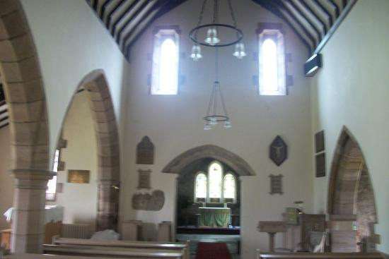 Kirknewton, UK: Inside