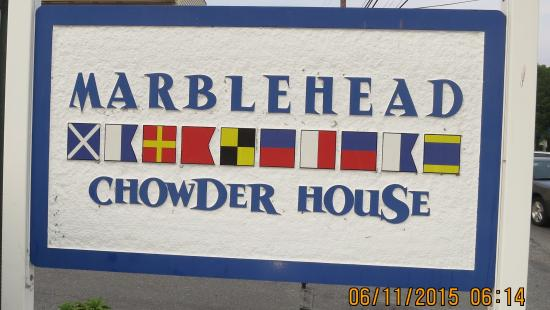 Marblehead Chowder House : Outdoor Sign