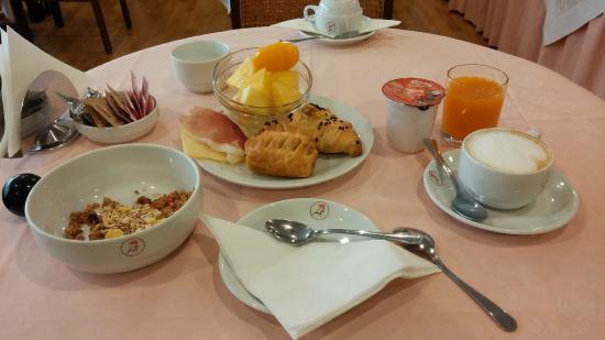 Ca' del' Galletto: colazione dei campioni