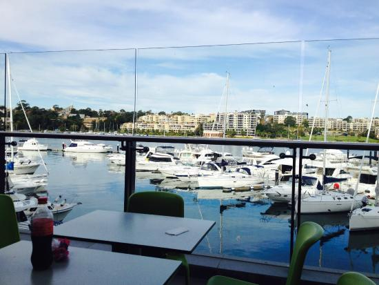 Drummoyne, ออสเตรเลีย: View from Food Court Deck