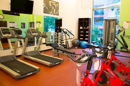 Crowne Plaza Hotel de Mexico : Gym