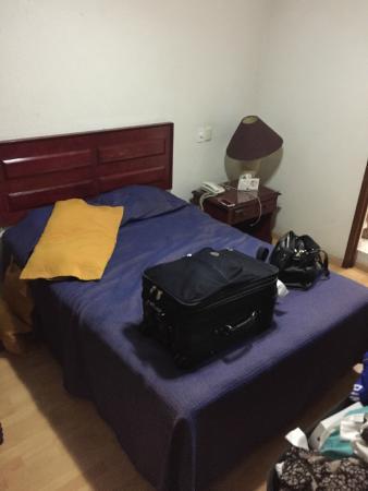 Hotel Gala Oaxaca : Way too small.