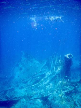 Snorkeling at the RMS Rhone, Salt Island, BVI
