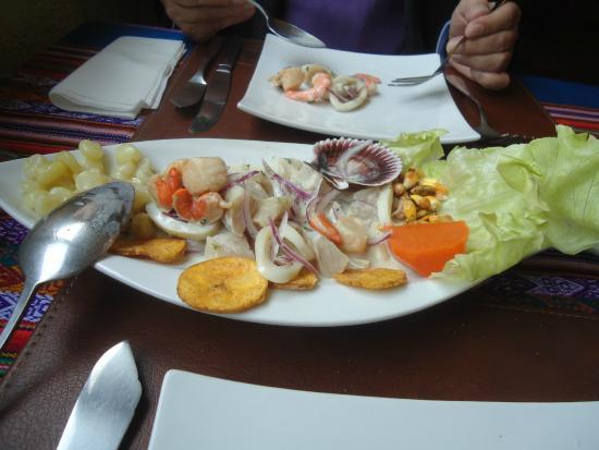 La Calesa: Ceviche