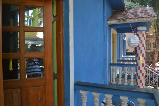 Casa Sumanjo: Balcony on ground floor