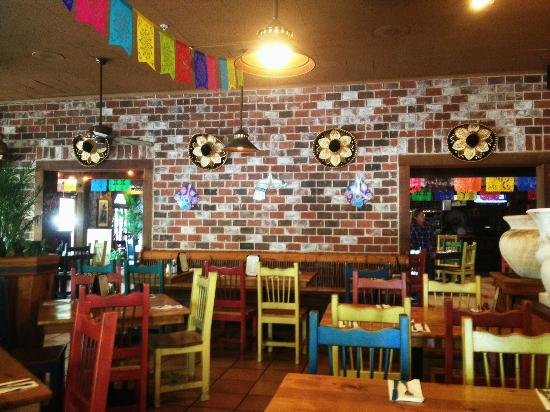 Interior decor picture of pacifico mexican restaurant