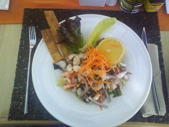 Mosquito Beach Restaurant and Beach Club: Ceviche