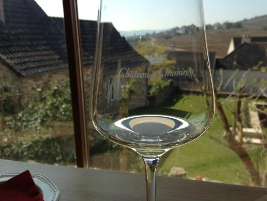 Château de Chamirey : The view from the tasting room