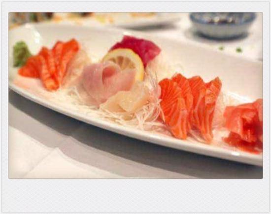 Ayame Japanese Restaurant: Sashimi