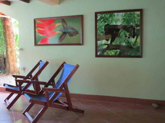The Toucan Stay Inn: Section of the huge lobby