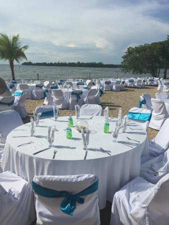 Amatique Bay Resort & Marina: Eventos en la playa.