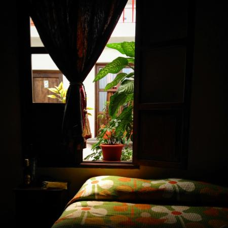 Hotel Las Piletas: the window