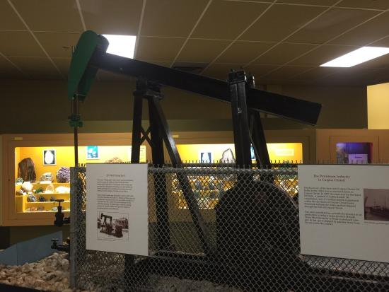 Corpus Christi Museum of Science and History: Who doesn't love a great oil well display.