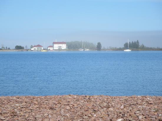 Grand Marais RV Park and Campground: View from our motor home