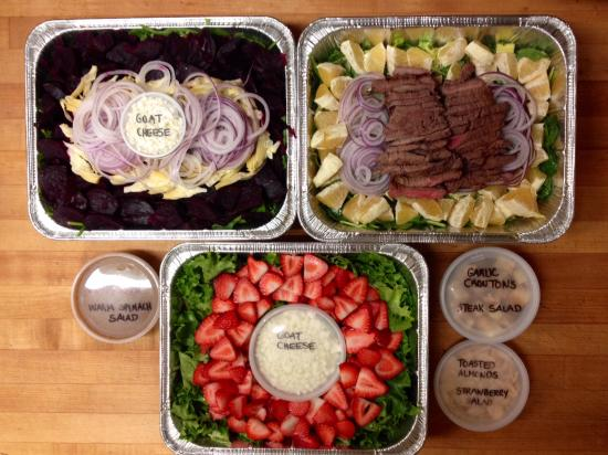 Sweet Maple Cafe: Delicious catered salads!