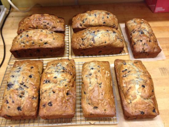 Sweet Maple Cafe: Maine Blueberry Bread