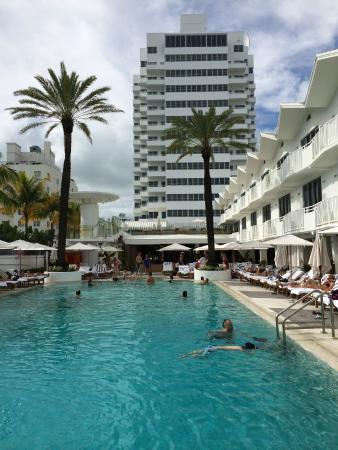 Shelborne South Beach Picture Postcard Pool Area