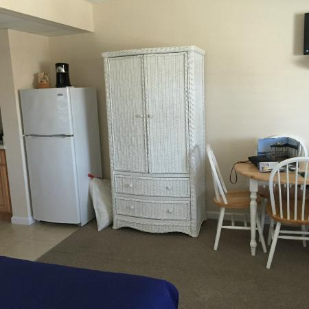 Seaport Inn Motel: fridge