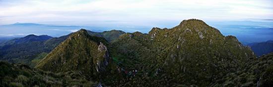 Mount Apo: View from Mt Apo summit