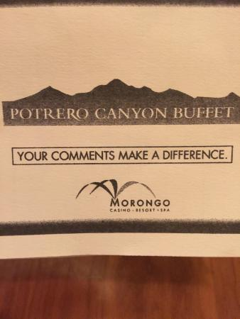 Potrero Canyon Buffet @ Morongo Casino