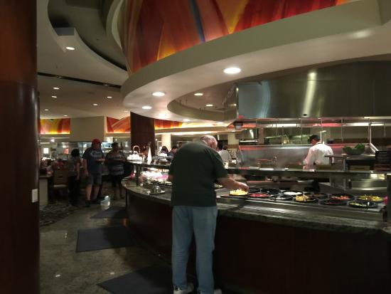 Potrero Canyon Buffet: A partial view of the HUGE food area.