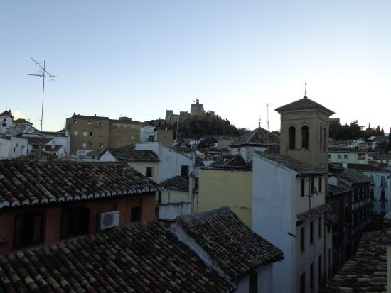 Hotel Posada Del Toro: suite view alhambra 1