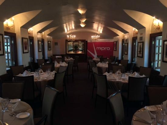 One Of The Private Dinner Rooms Overlooking The Canal Picture Of