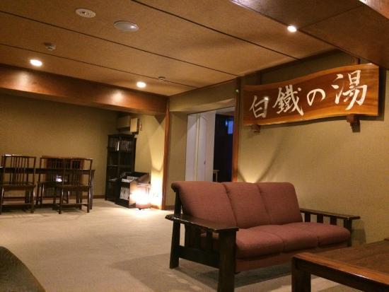 Manzatei: 昆布茶が無料、有料でコーヒーもいただけるスペース。