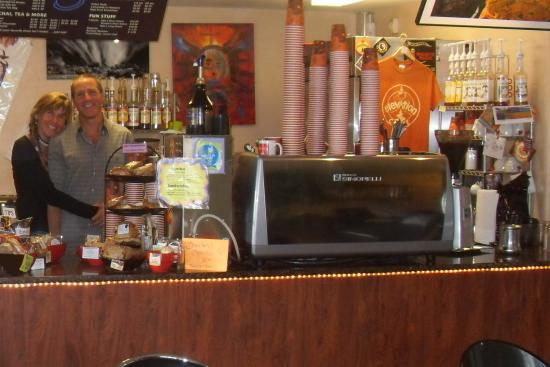 Elevation Coffee: Owners-Janet & Shawn