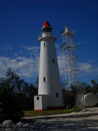Lighthouse on the island...
