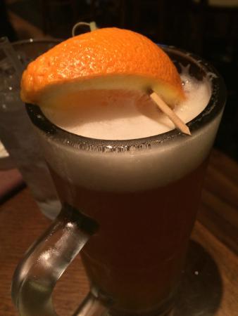 Outback Steakhouse: Pra quem gosta de cerveja,recomenda-se a Blue Moon