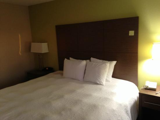 Hampton Inn Oakland-Hayward: ベッド