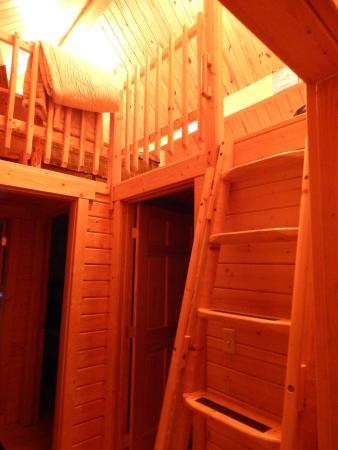 Kila, MT: Ladder to the loft