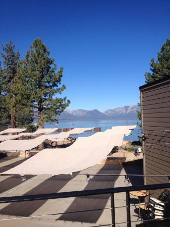 The Landing Resort & Spa: View from our balcony. Ask for a partial lake view.  The balconies are much larger than lake vie
