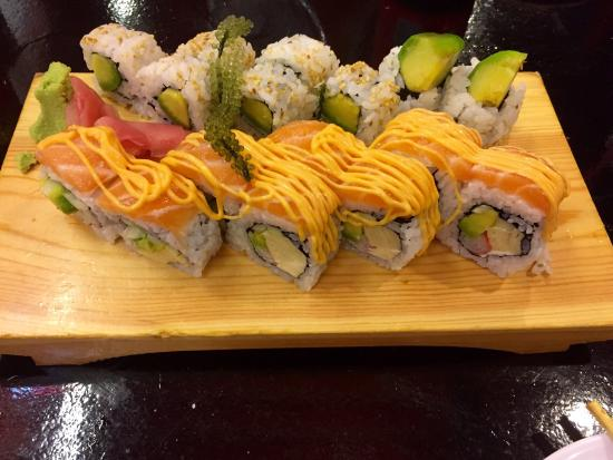 Sushi at Sushi Ko, june 2015