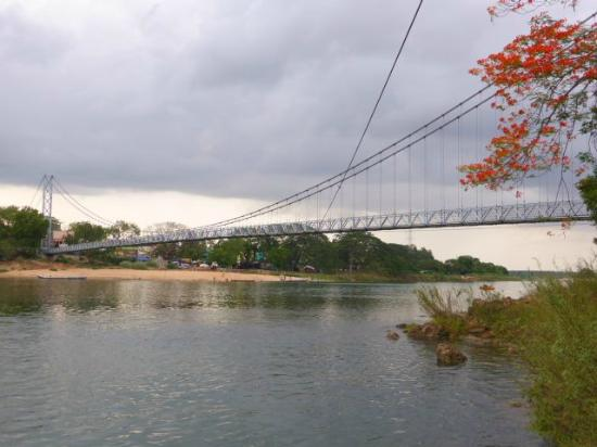 Hanging footbridge at Dhabaleswar Island 2
