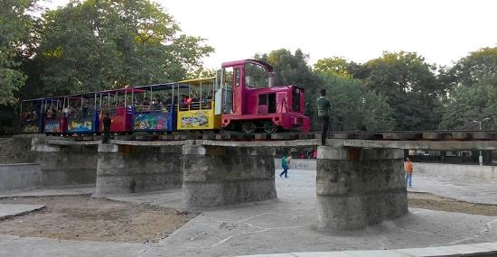 Gandhinagar, Индия: Children Train