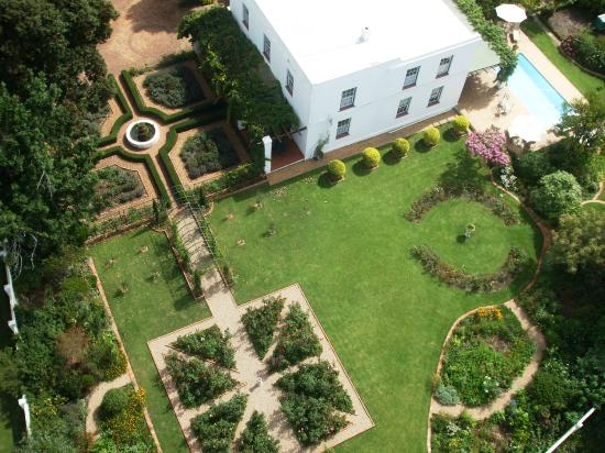 Fairview Historic Homestead: spectacular garden with formal elements, orchard, kitchen garden and plant collections