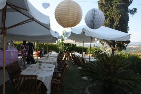 Agriturismo San Giacomo: Diner opstelling