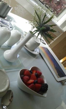 Woodvale B&B: Frühstück mit Herz