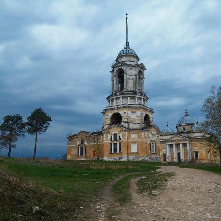 Staritsa, Ρωσία: Общий вид церкви