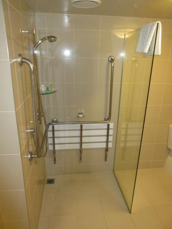 Bayswater, New Zealand: Accessible shower