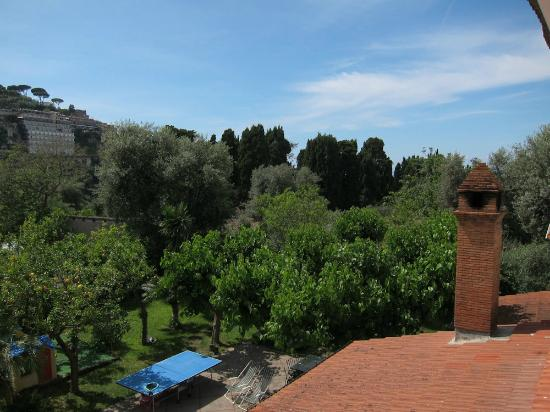 Casa Lucia: view from communal terrace