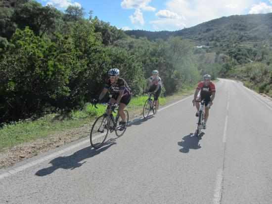 Algarve Bike Tours: Central Algarve road bike tour