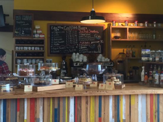 Coffee Box: The menu